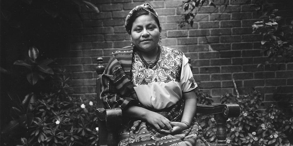 Image result for Rigoberta Menchú