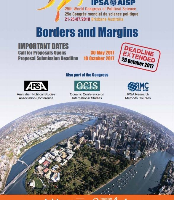 Attendance at 25th International Political Science Association (IPSA) World Congress