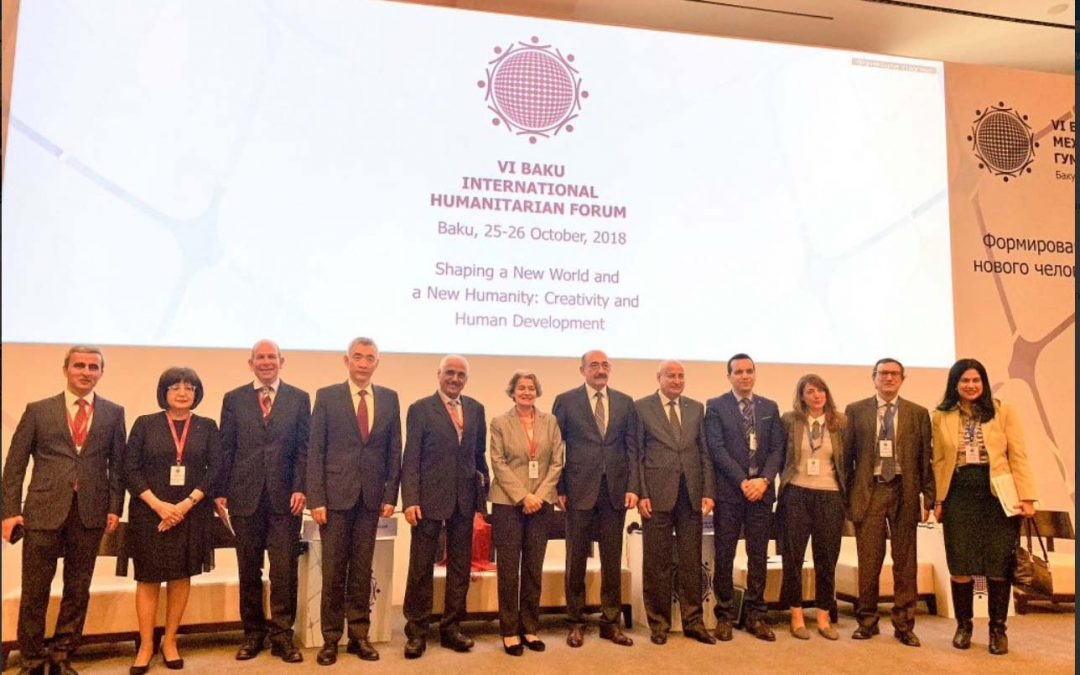Participation at the Baku International Humanitarian Forum 2018