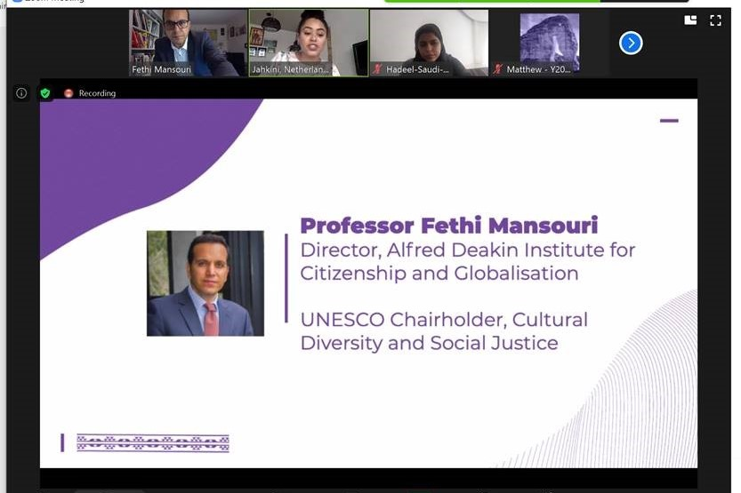 Presentation: Multiculturalism and Global Citizenship in a post COVID19 World: The role of global youth in emerging/post-covid recovery agenda
