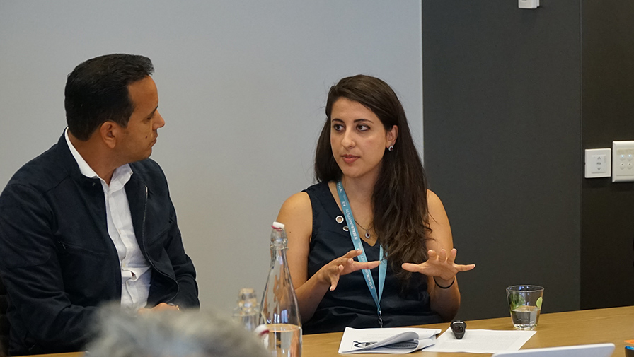 UNESCO Intern, Dr Neda Salahshoor's seminar on critical analysis of media discourse