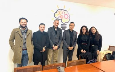 Meeting prospective participants of DFAT/CAAR project on Social Inequalities in Post-Revolution Tunisia