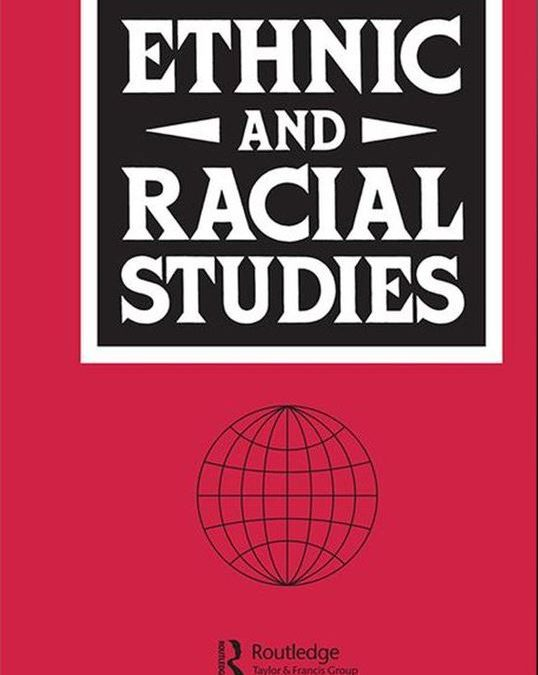 Journal Article: Racism and Nationalism during and beyond the Covid-19 pandemic